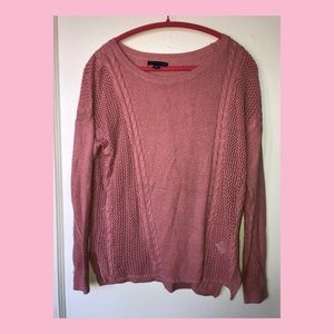 AE Dusty Pink Sweater
